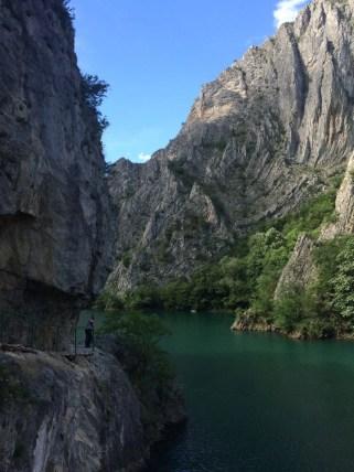 Trail around Canyon Matka