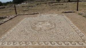 Mosaic at Ancient Olynthus