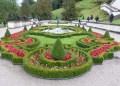 Beautiful Garden at Linderhof