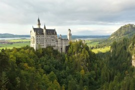 Neuschwanstein Castle from Mary's Bridge