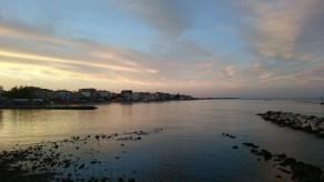 Sunset over Paralia, Pieria