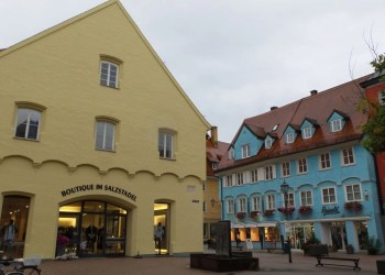 Traditional Houses in Memmingen near Drexel's Parkhotel
