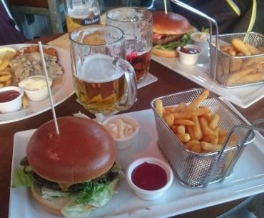 Tasty Germany: Burgers and Beer in Nuremberg at Alex's