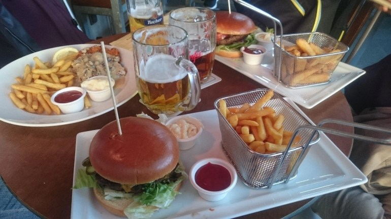 Tasty Germany: Burgers and Beer in Nuremberg at Alex's