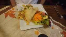 Tasty Germany: Stuffed French Crepe at Zur blauen Traube