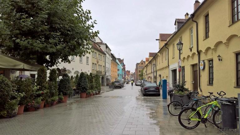 """Altstadt """"The Old Town"""" of Memmingen, Germany"""