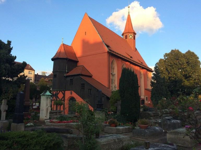 Johannisfriedhof Nurnberg cemetery in nuremberg