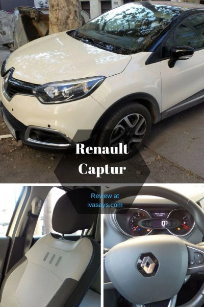 Automobile review of the Renault Captur, a crossover made for the couple travelers.