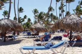 Tanning in punta cana