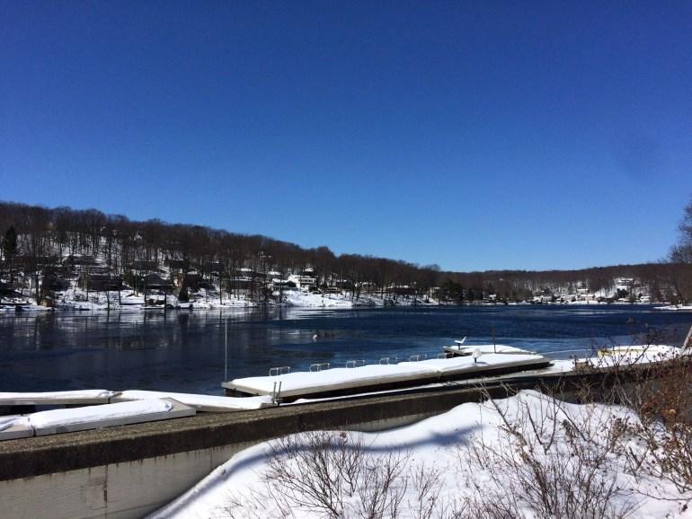 Winter in West Milford, NJ