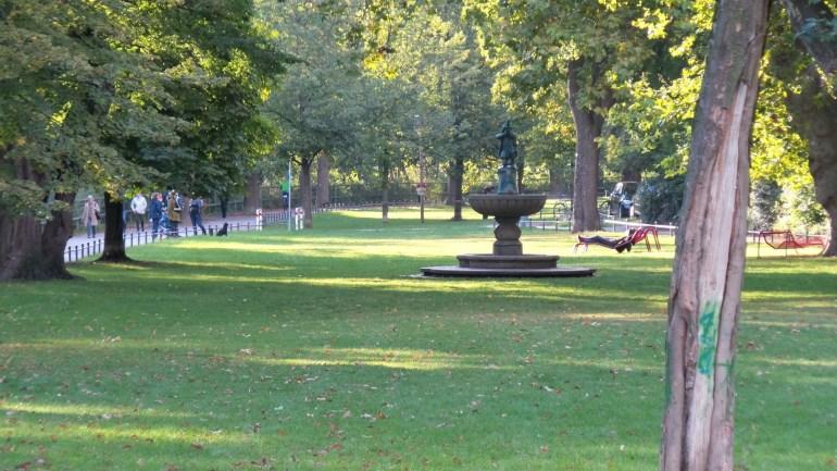 St. Johhanis Park in Nuremberg