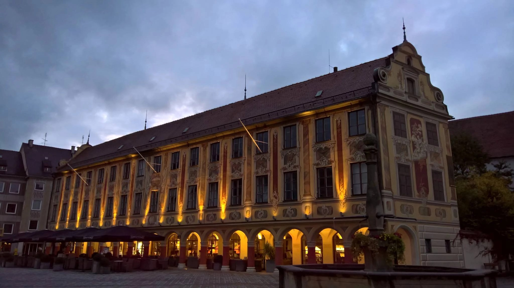 Steuerhaus in Memmingen, Germany