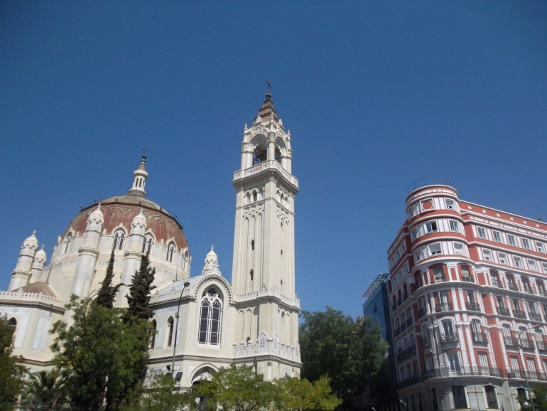Church of San Manuel y San Benito in Madrid (Spain's capital)