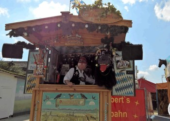 Interesting Shop Stand at Oktoberfest