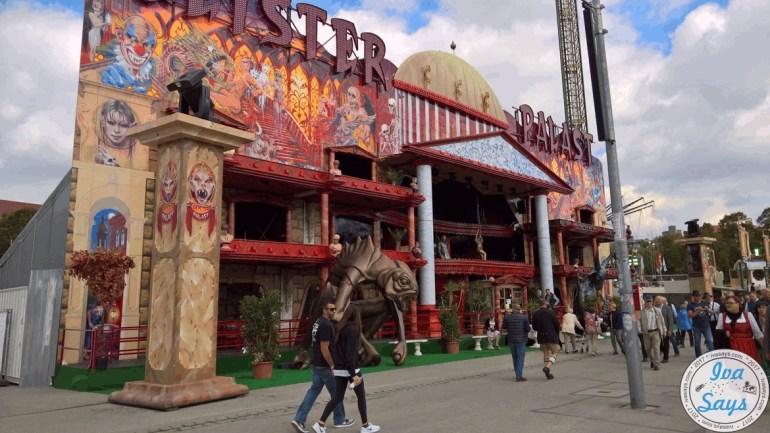 Scary House Amusement Ride at Oktoberfest