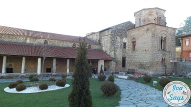 Church St. Sophia holds valuable frescoes and icons, the main part of the church was built in the 11th century, one of the most important monuments in Macedonia.