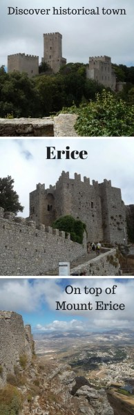 Why I fell in love with the famous medieval town Erice situated on Mount Erice over looking Trapani on the Italian island Sicily. Traveling and exploring Sicily, one city at a time. #travel #adventures #italy #romantic #family #holidays #vacation