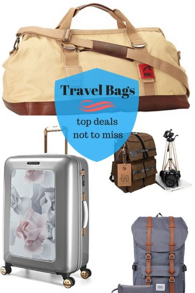 Travel bags for everyone's taste. Perfect travel bags for any journey or trip with different price tags, fashionable, and stylish. #travel #shopping #accessories #travelgear #travelgifts