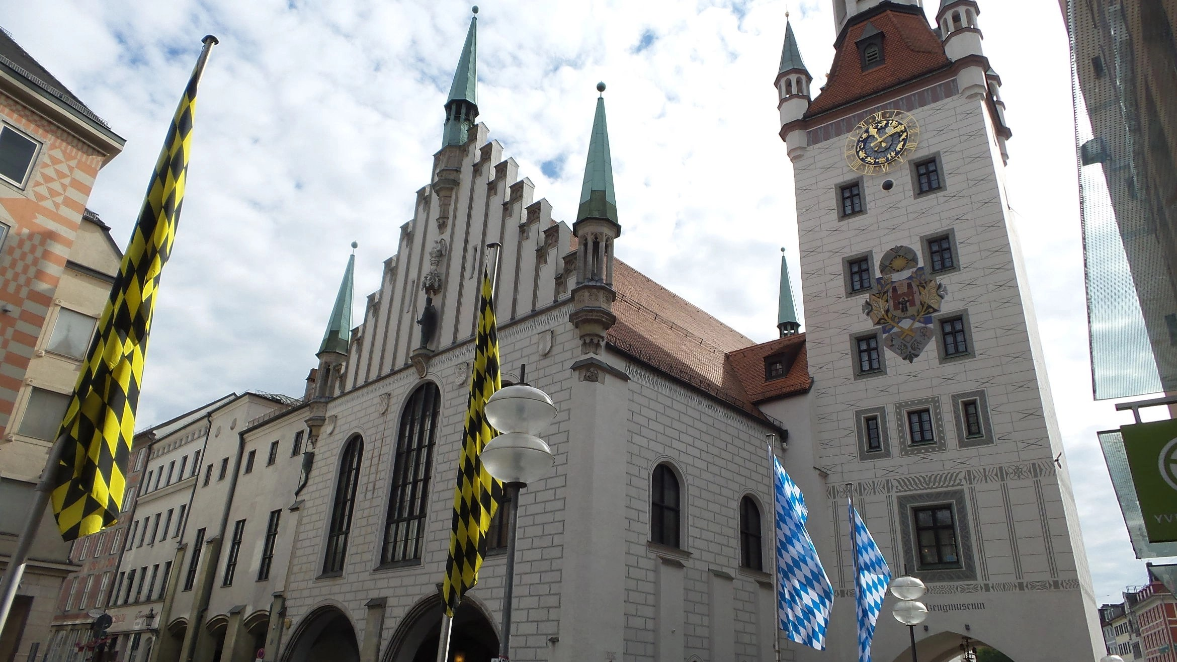 Altes Rathaus known as the Old Town in Munich, Germany.