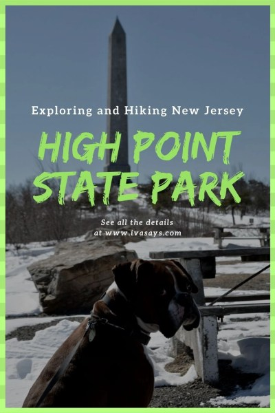 Exploring New Jersey through hiking with the latest destination High Point State Park in Sussex, NJ.