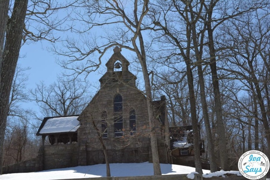 St. Lukes Church at Sheppard Lake in Ringwood State Park, NJ