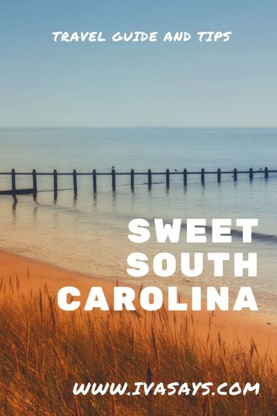 Visiting and exploring South Carolina, an awesome place for a solo, couple's, or a family trip. Fun and adventures for everyone at any age! A wooden pier along the shorelines of the ocean in the background.