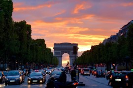 Visiting and exploring the French capital Paris.