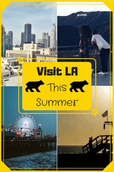 Los Angeles, or LA for short, California is one of the top travel destinations in the world due to it's popularity from Hollywood. People want to see celebrities and experience the life of the riches in Beverly Hills. Here our top reasons why yous should pack up your bags and visit LA this summer.