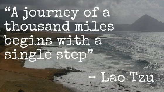 "Collections of Famous Travel Quotes. 45. ""A journey of a thousand miles begins with a single step"" – Lao Tzu"