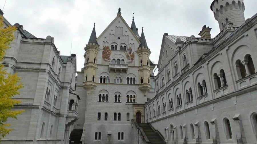 The Neuschwanstein Castle in Germany