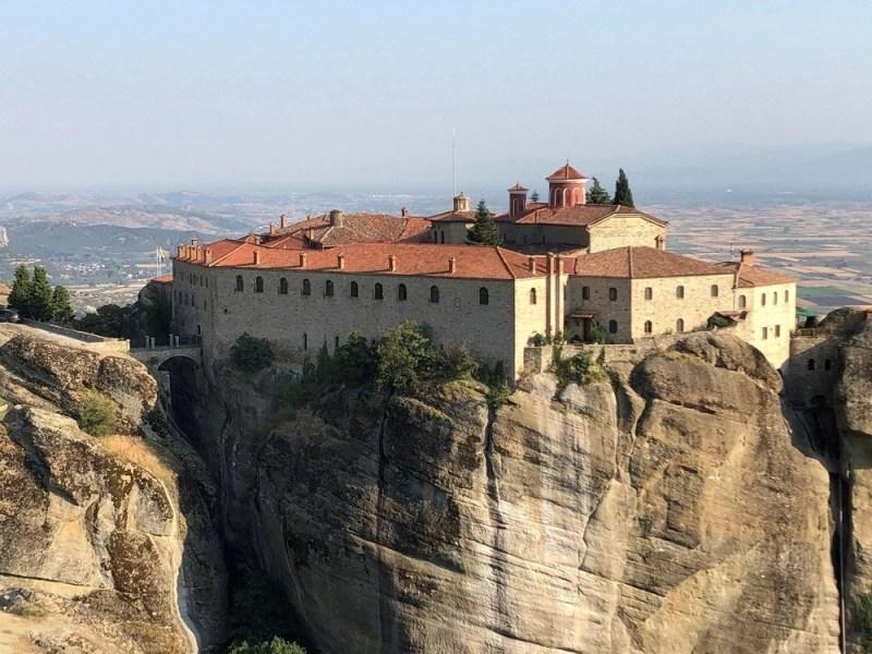 Saint Stephans (Agios Stefanos) monastery in Meteora, Greece.