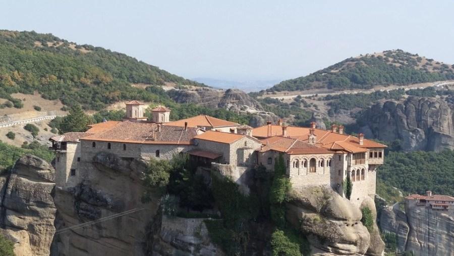 Vralaam Monastery in Meteora