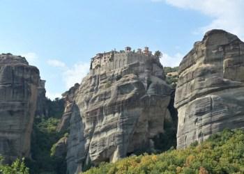 Visit the Meteora Monasteries in Greece.