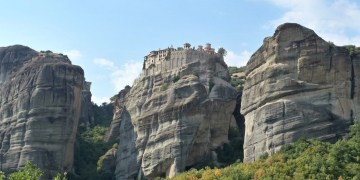 Visit the Meteora Monasteries in Greece.