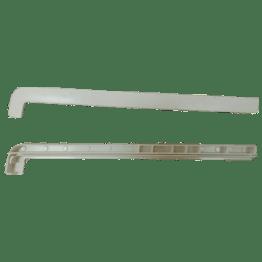Накладка на отлив белая (190-360), пара