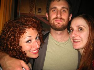 I've Got Munchies head writers- Jenn Dodd and Sharon Jamilkowski with Jake Goldman of MORT.