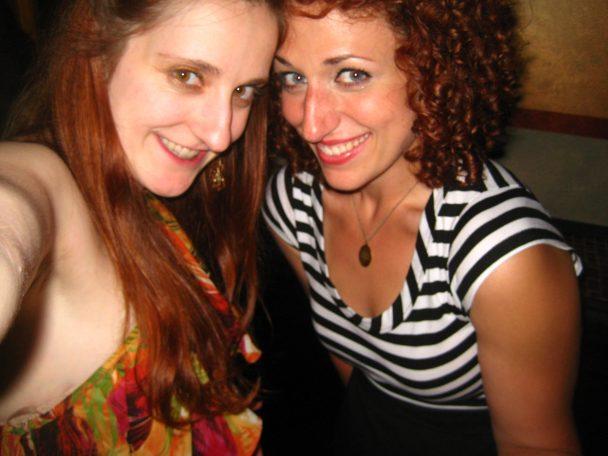I've Got Munchies Gals- Sharon Jamilkowski and Jenn Dodd