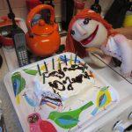 Ice Cream Sandwich Cake and MJ