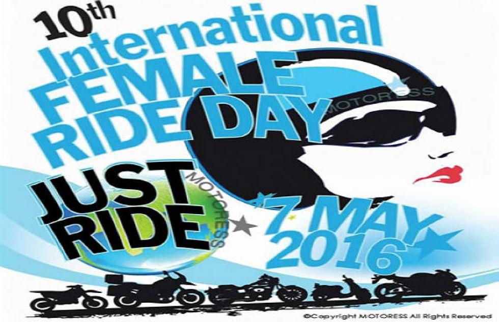 International Female Ride Day vespa