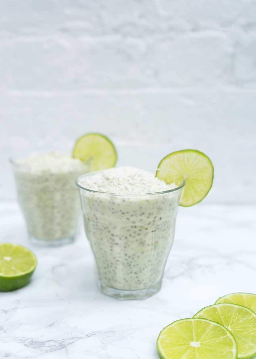 Coconut Lime Chia Pudding