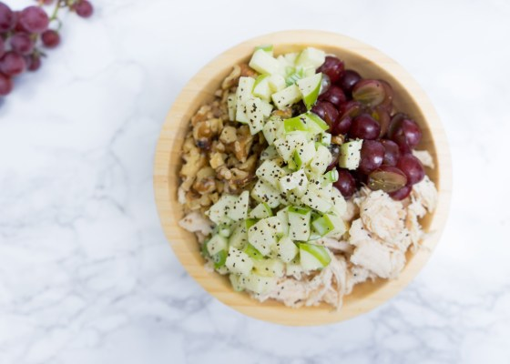 Apple & Grape Chicken Salad