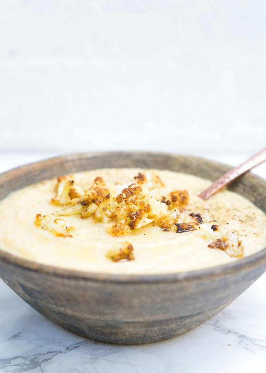 Truffle Cauliflower Soup
