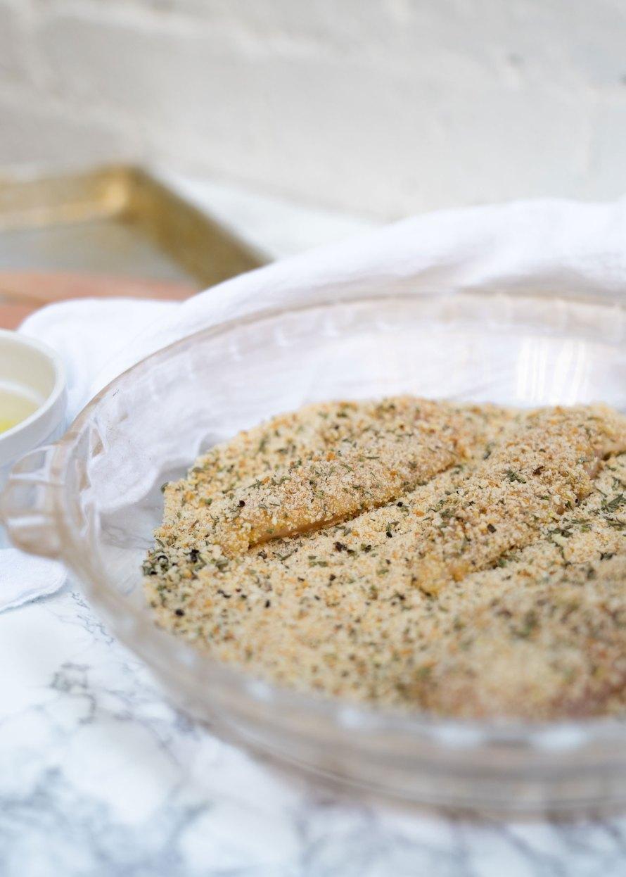 Easiest Crispy 10 Minute Breaded Chicken Tenders