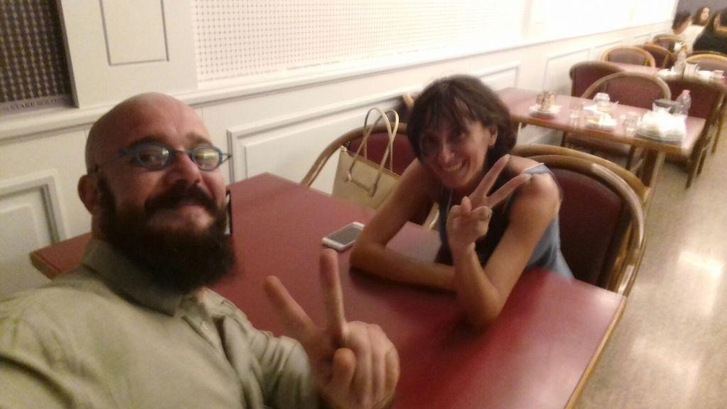 foto Paola Ragnoli e Giacomo Del Colle Lauri Volpi insieme