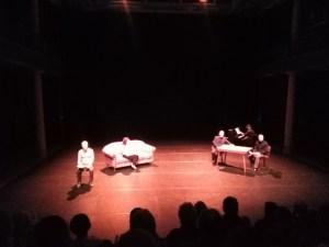 immagini dallo spettacolo teatrale Van Gogh La Discesa Infinita