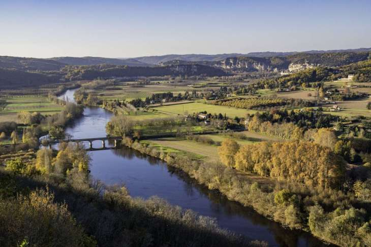 la valle della Dordogna