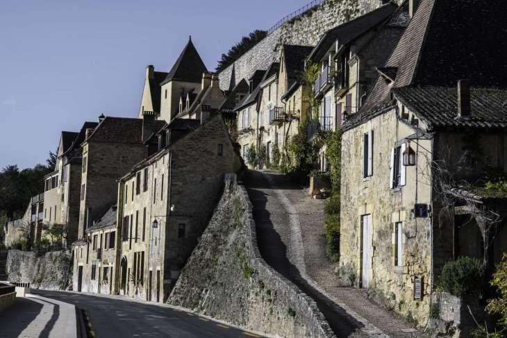 Dordogna il villaggio di Beynac