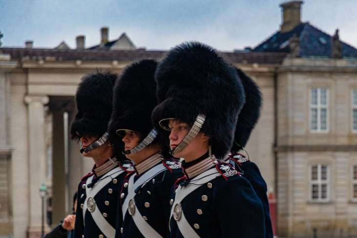 la Guardia Reale danese