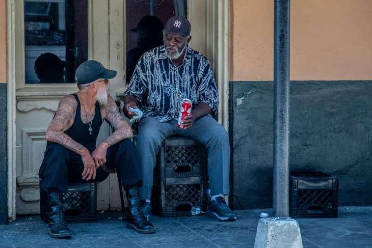 personaggi che si incontrano a New Orleans