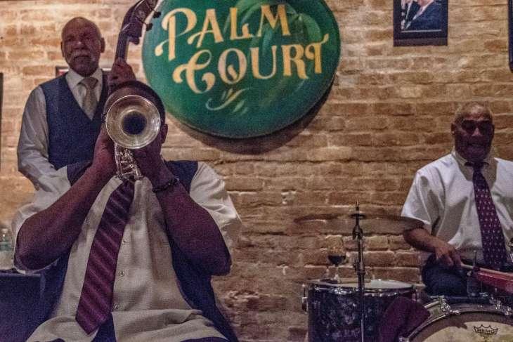 live jazz al Palm Court café
